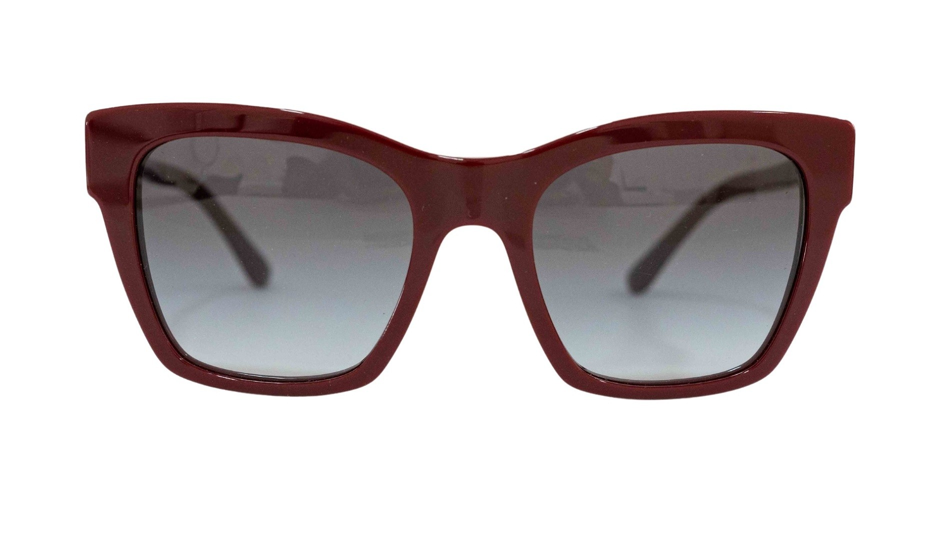 Óculos Dolce&Gabbana Cat-Eye DG4384 30918G 53 Vinho