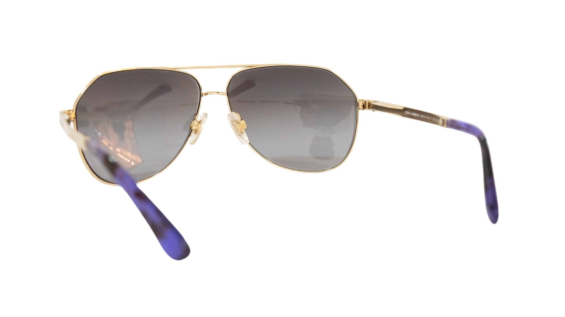 Óculos Dolce&Gabbana Piloto DG2144 1253T3 59 Dourado