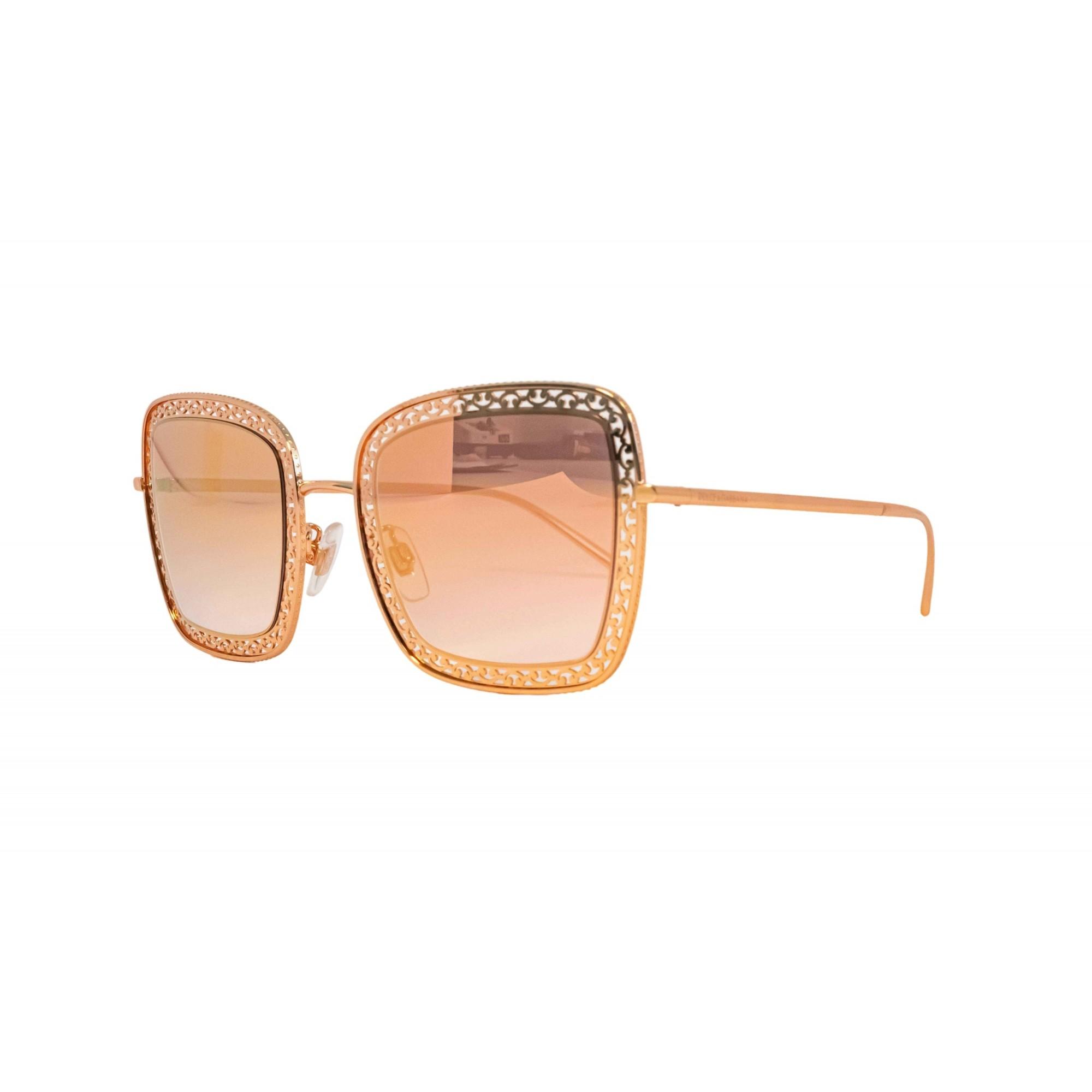 Óculos Dolce&Gabbana Quadrado Dg2225 12986f 52 Rosa