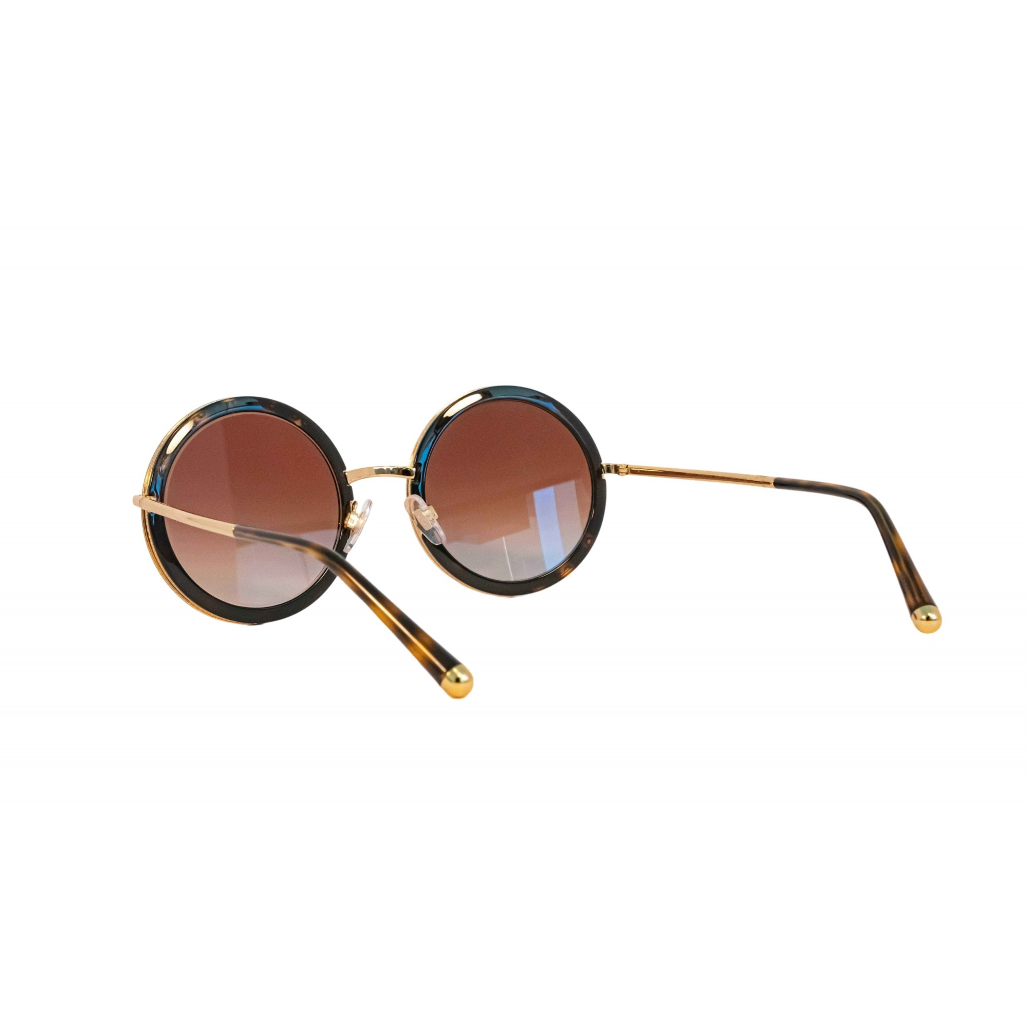 Óculos Dolce&Gabbana Redondo Dg2211 0213 53 Dourado