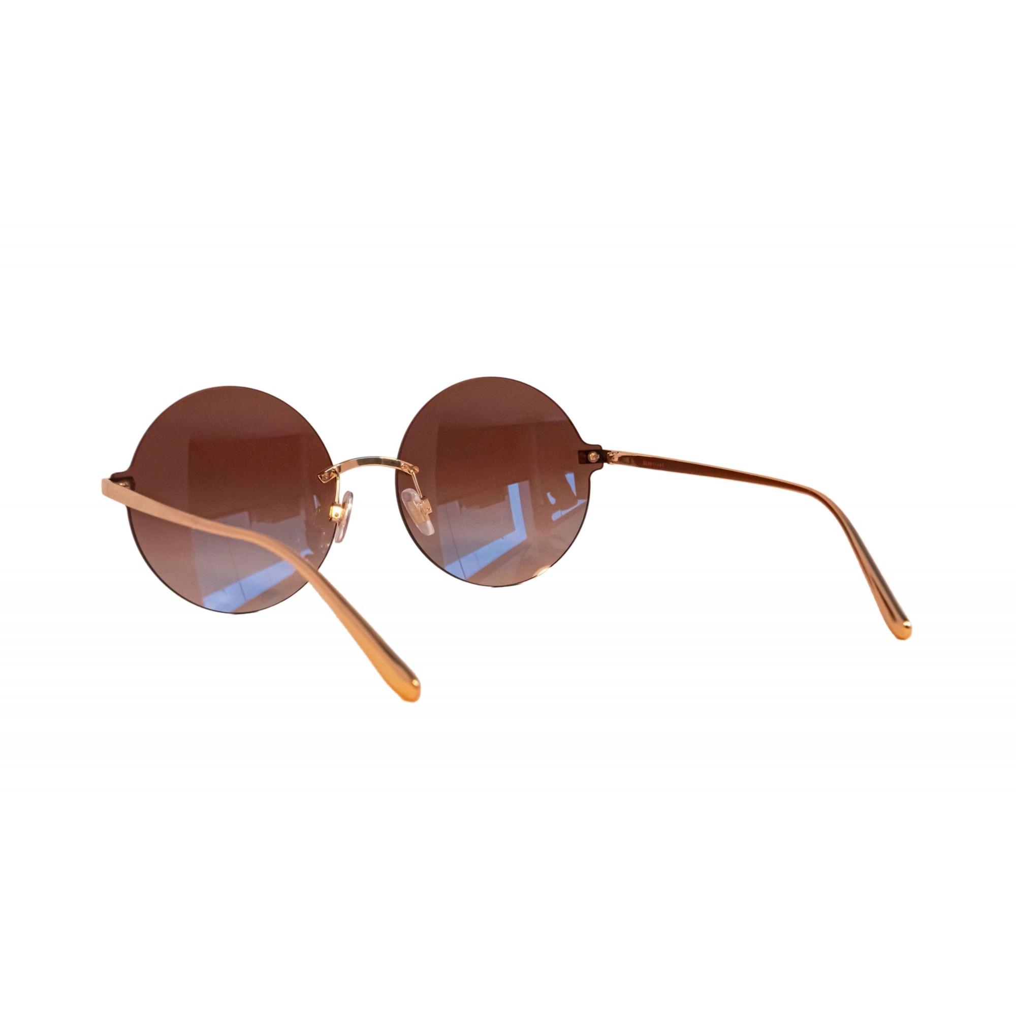 Óculos Dolce&Gabbana Redondo Dg2228 129813 62 Dourado