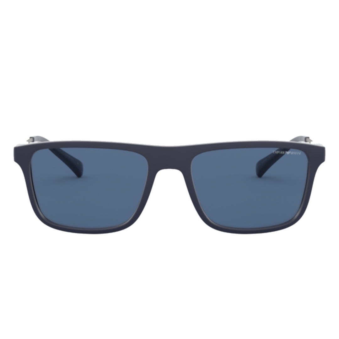 Óculos Emporio Armani Retangular EA4151 575480 56 Azul