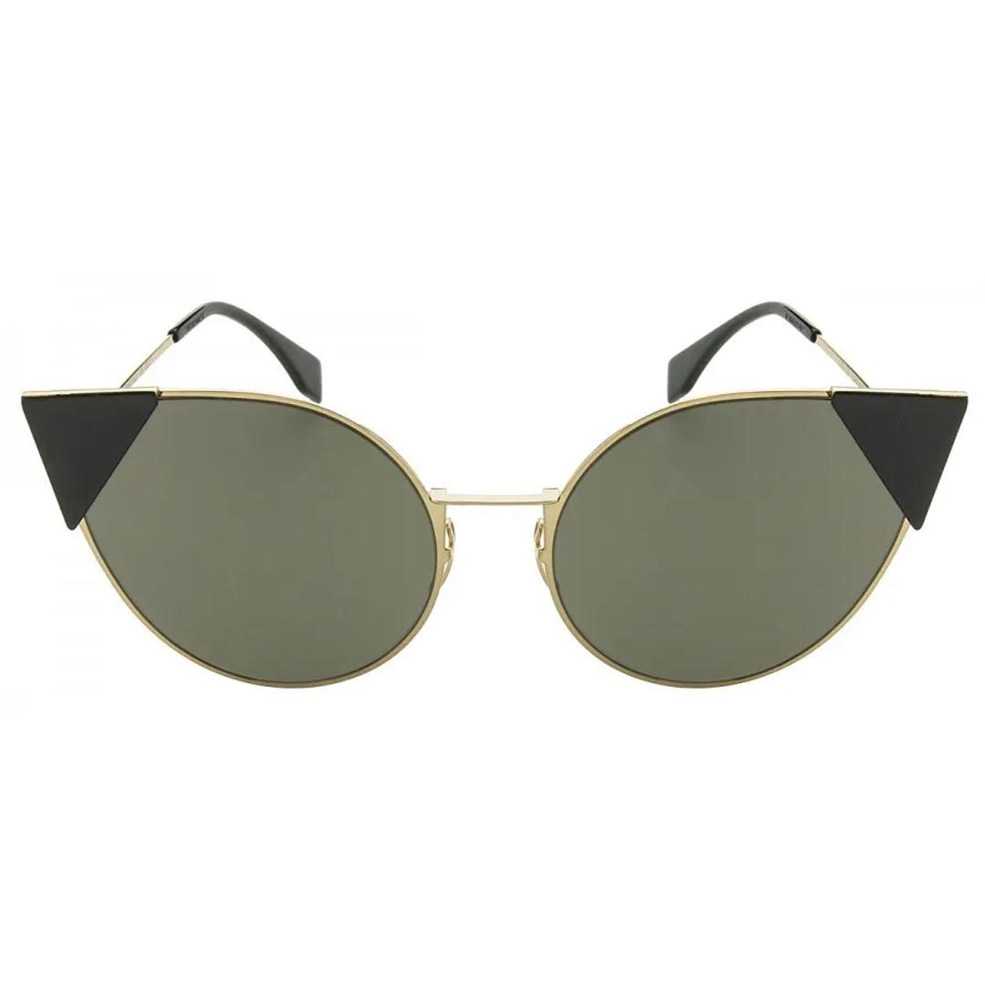 Óculos Fendi Cat-Eye FF0190S 0002M 57 Dourado