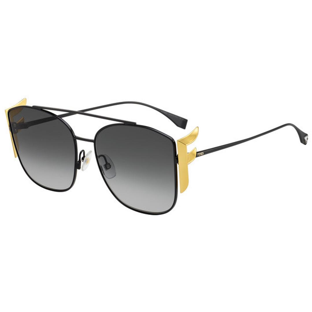 Óculos Fendi Clássico FF0380GS 8079O 62 Preto