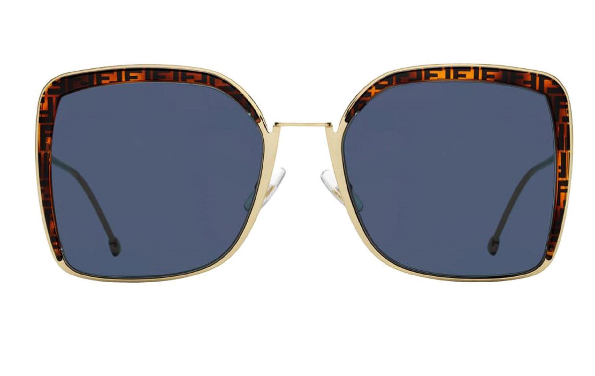 Óculos Fendi FF0294S J5GKU 58 Dourado