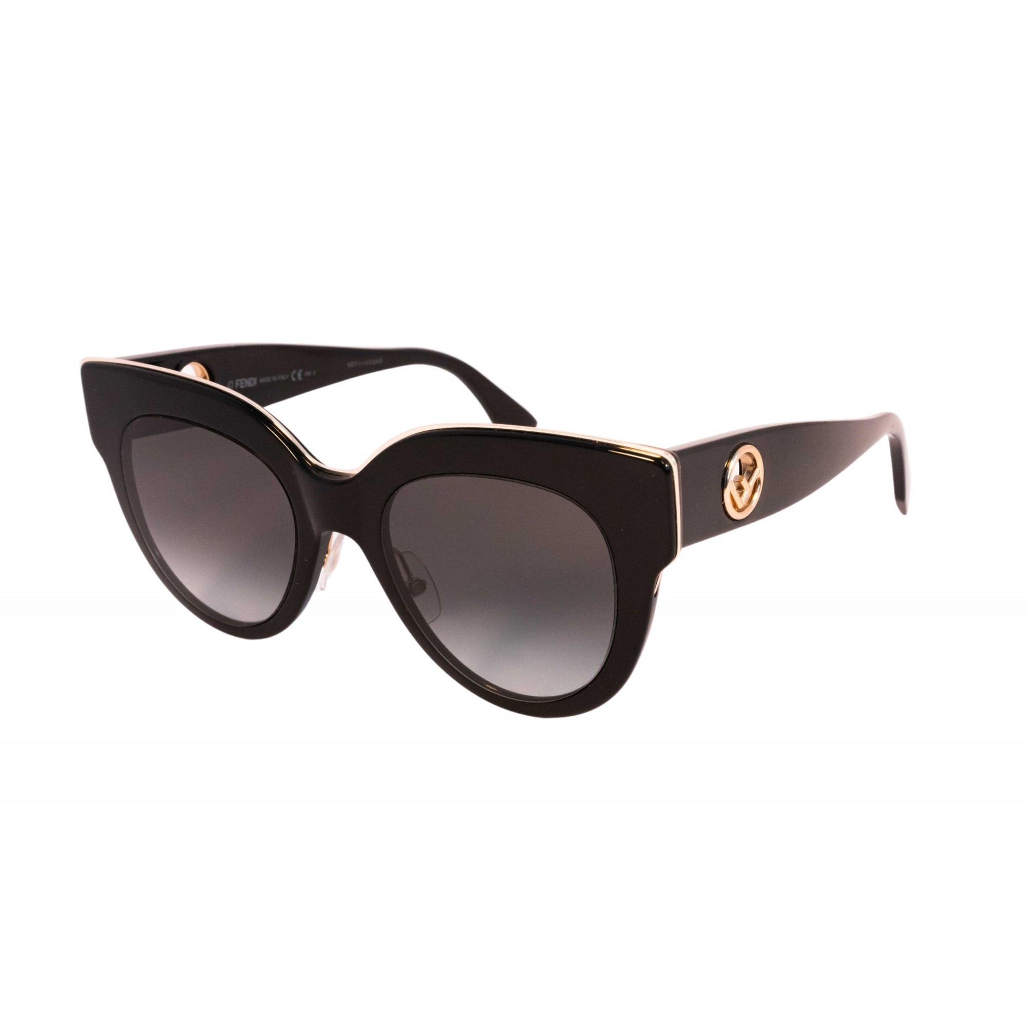 Óculos Fendi Redondo Ff0360gs 80790 51 Preto