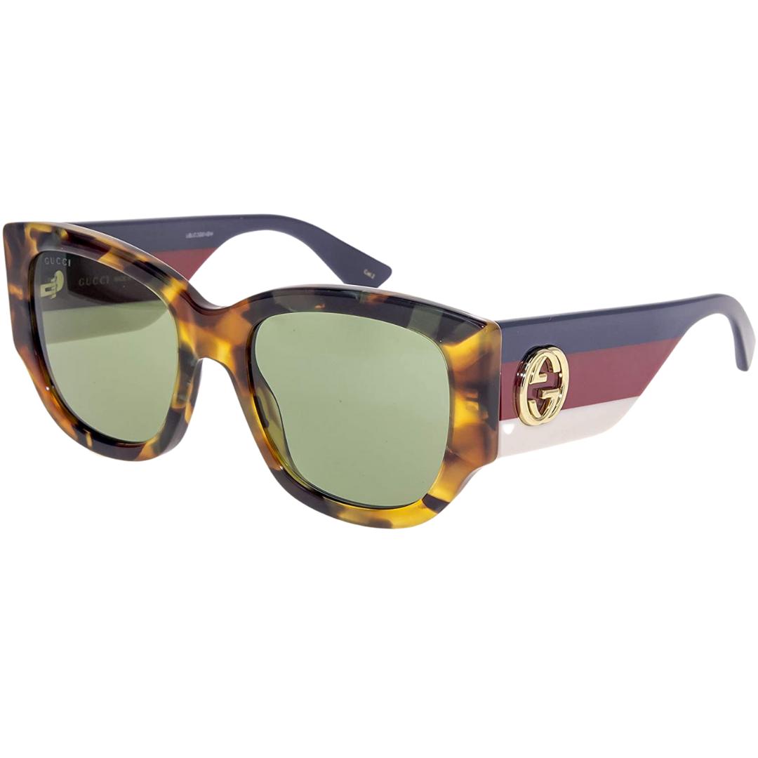 Óculos Gucci Quadrado GG0276S 004 53 Tartaruga