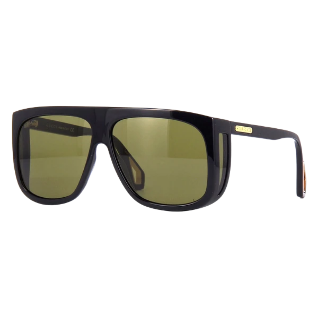 Óculos Gucci Quadrado GG0467S 001 62 Preto