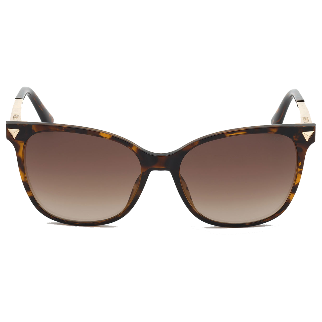 Óculos Guess Cat-Eye GU7684 52F 56 Tartaruga Escuro