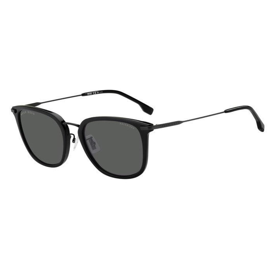 Óculos Hugo Boss Quadrado HB1287FSK/807M9 56 Preto