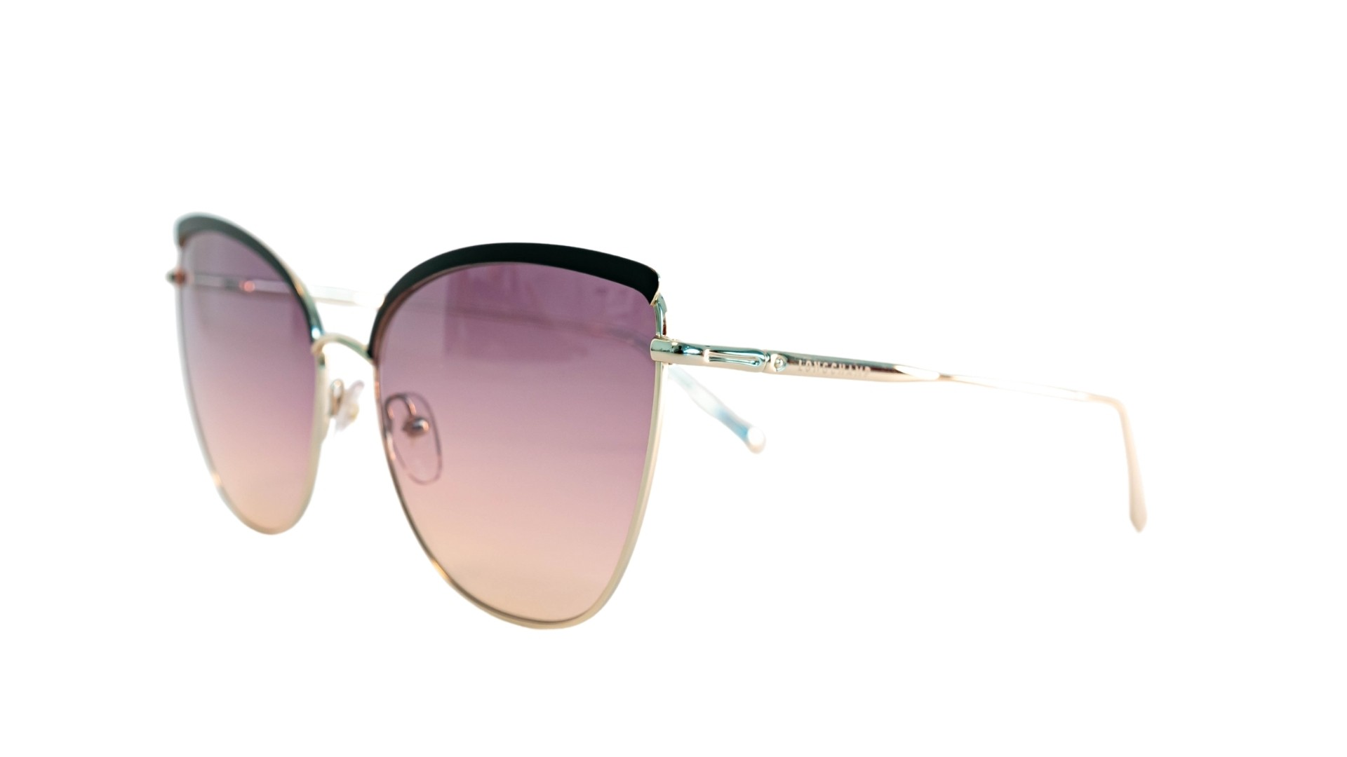 Óculos Longchamp Cat-Eye LO130S 720 60 Preto