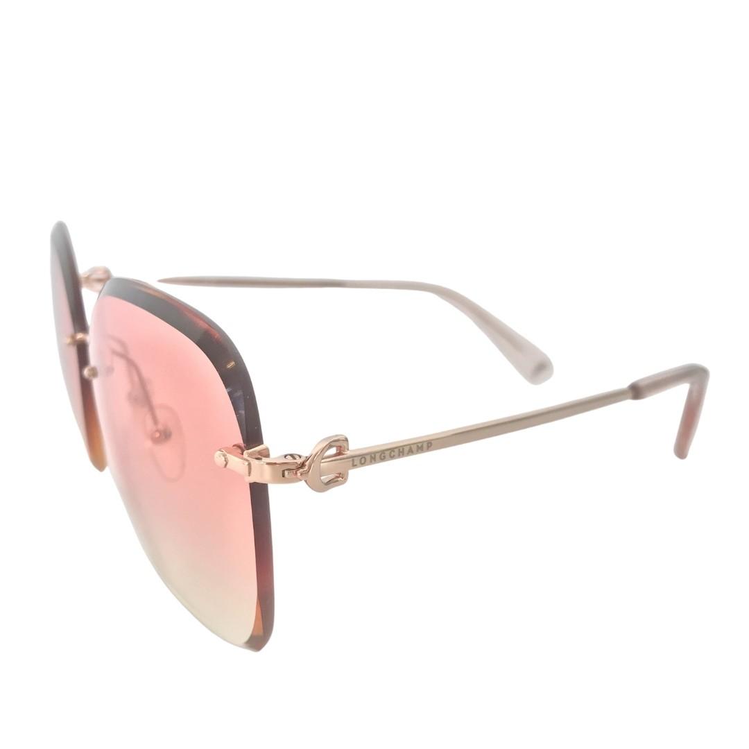 Óculos Longchamp Oversized LO127S 770 60 Rose Pink