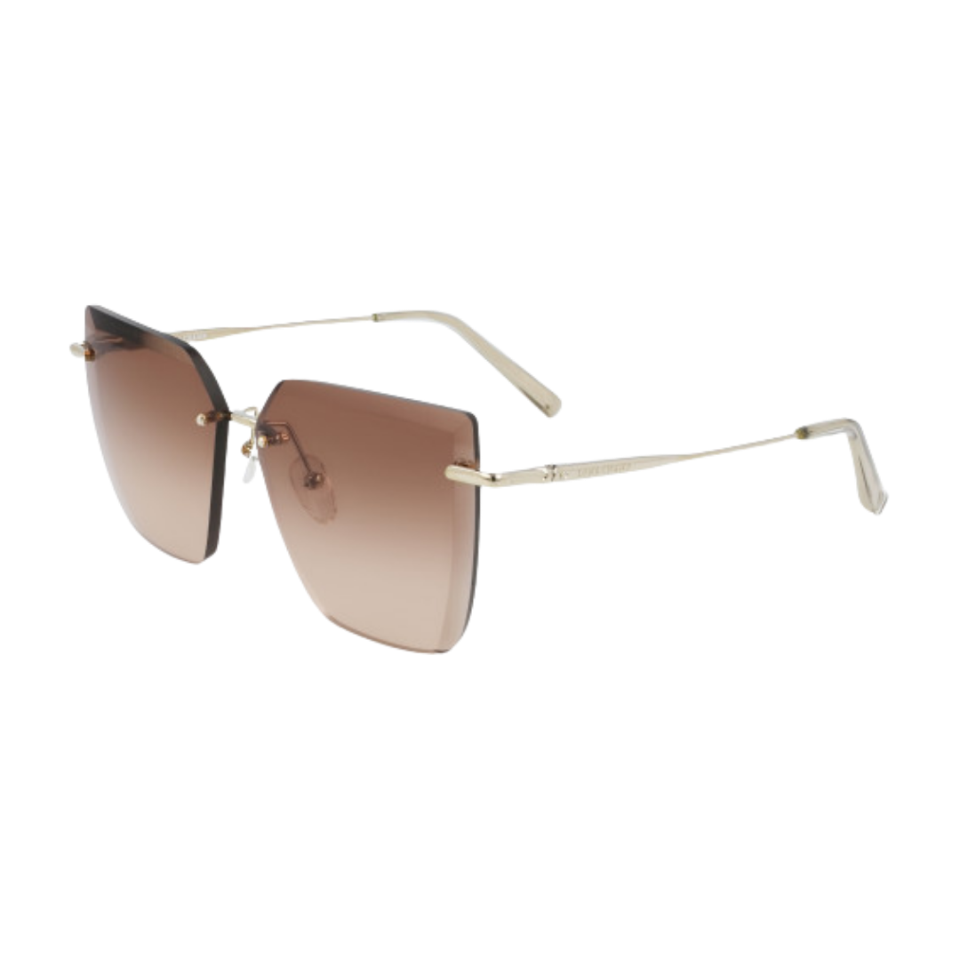 Óculos Longchamp Sunglasses Cat-Eye LO142S 718 59 Dourado