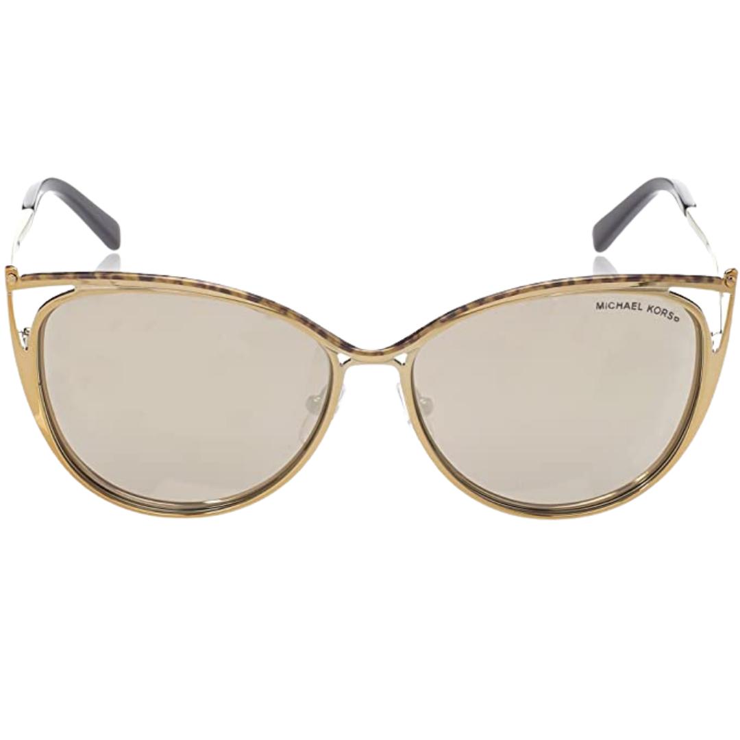 Óculos Michael Kors Ina Cat-Eye MK1020 11645A 56 Dourado