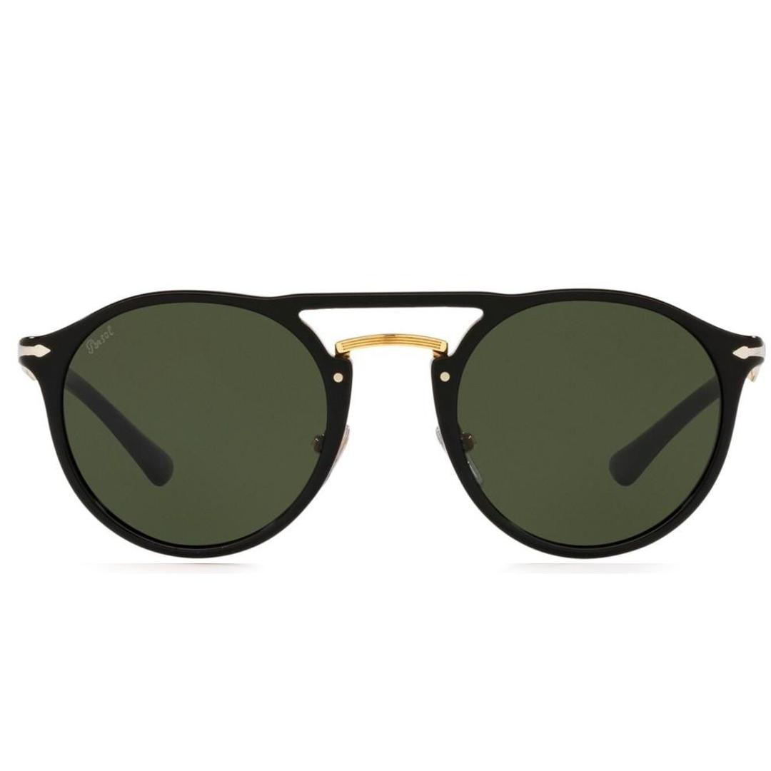 Óculos Persol Arredondado PO3264S 9531 50 Preto/Dourado