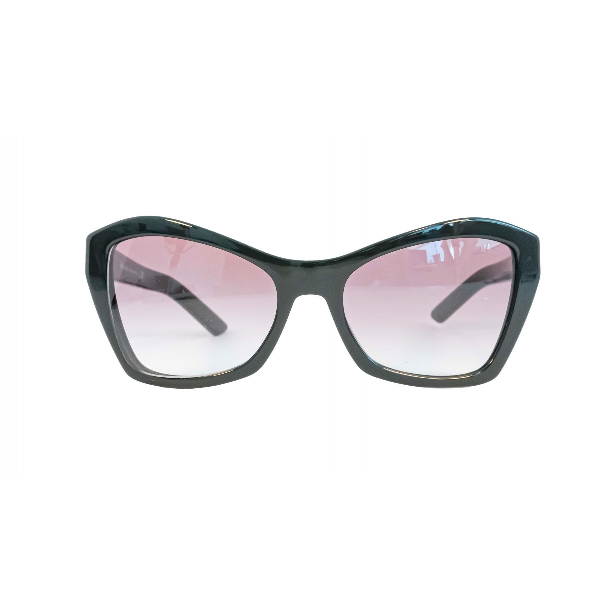 Óculos Prada Borboleta Spr07x 1ab0a7 55 Preto