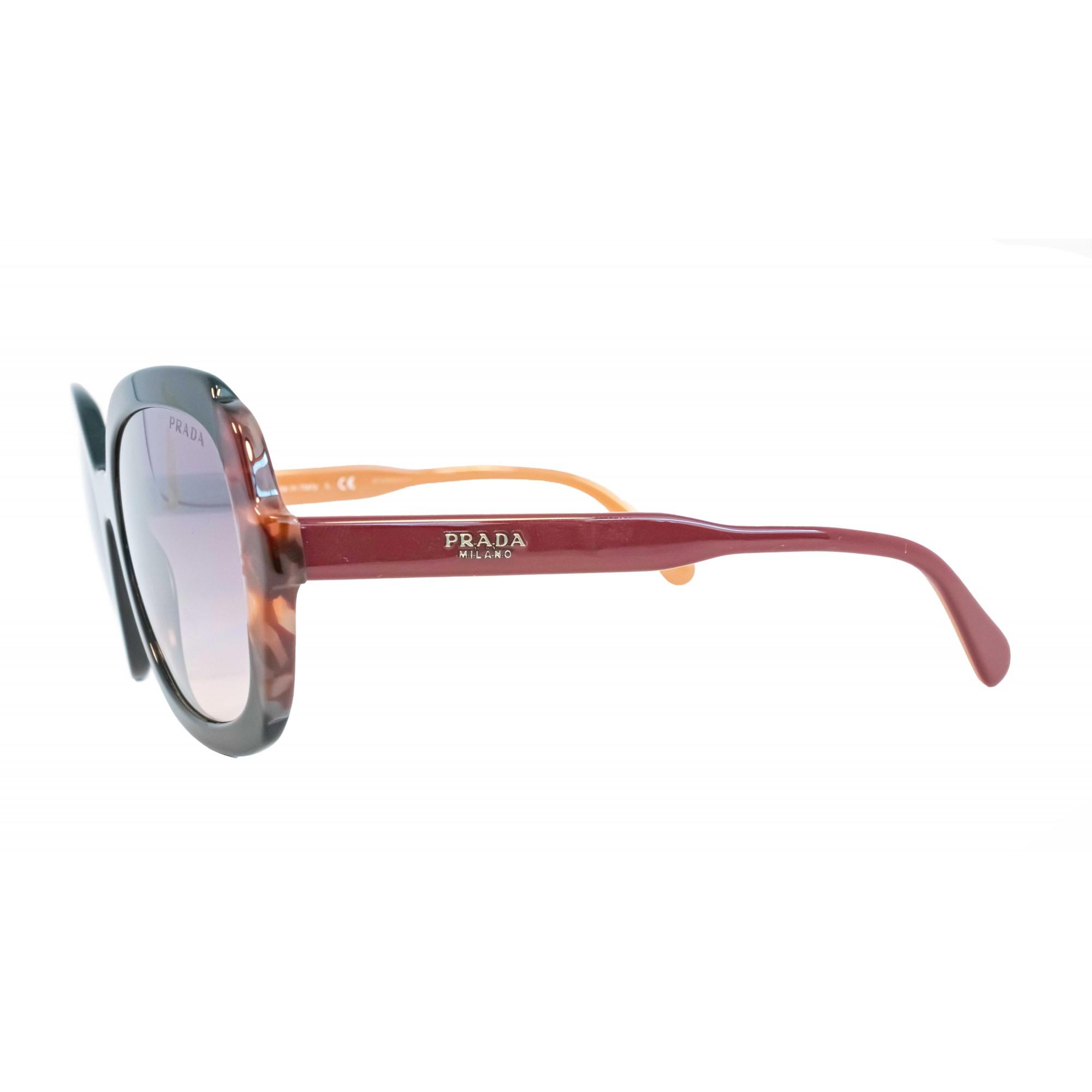 Óculos Prada Borboleta Spr16u 495gr0 54 Tartaruga