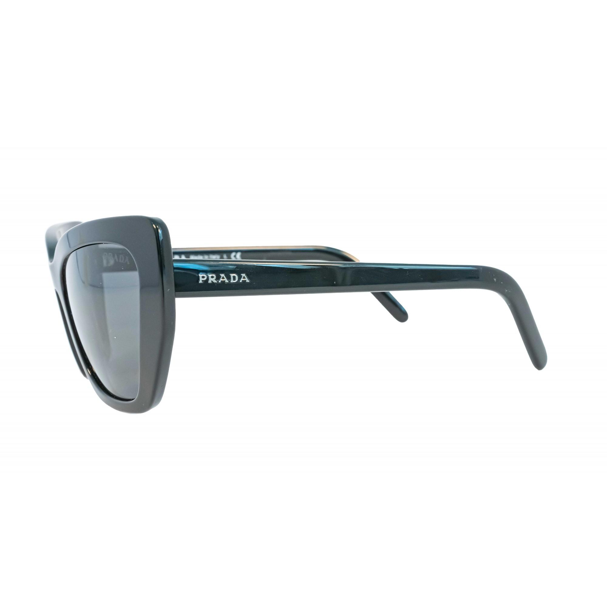 Óculos Prada Cat Eye Spr08v 1ab5s0 55 Preto
