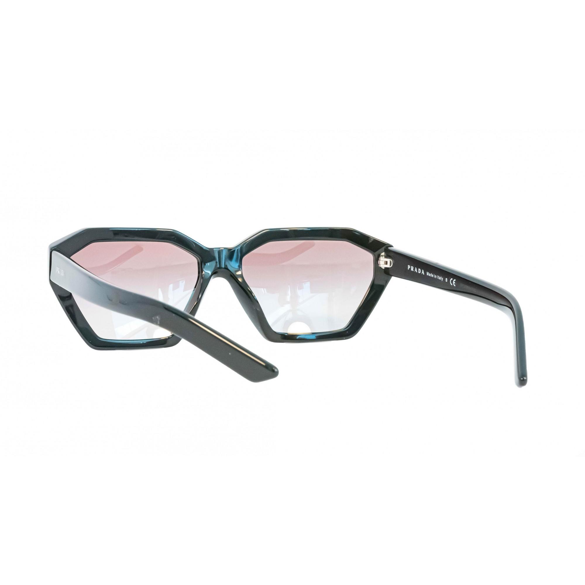 Óculos Prada Octagonal Spr03v 1ab5o0 57 Preto