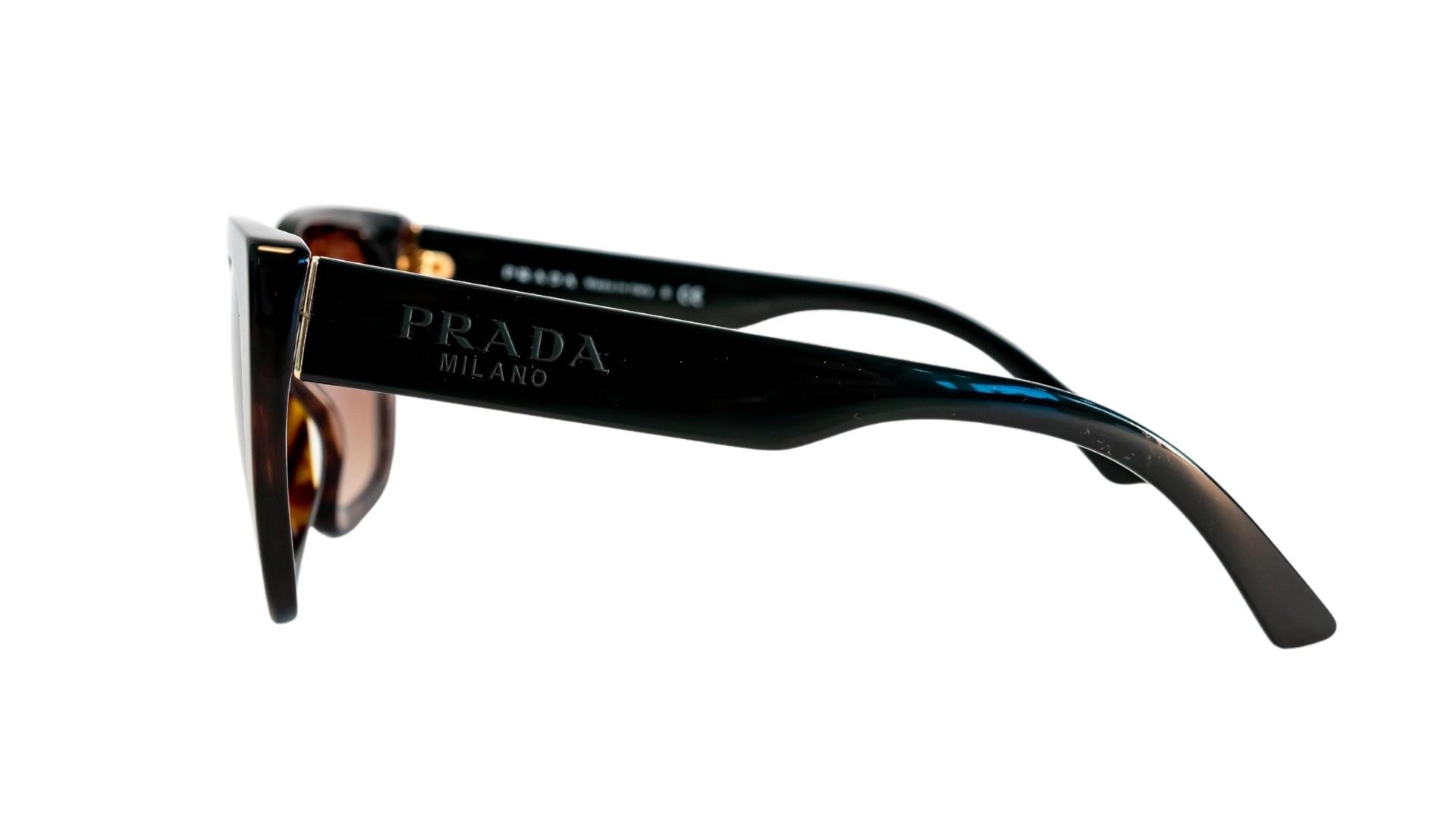 Óculos Prada Quadrado SPR24X 2AU6S1 52 Tartaruga