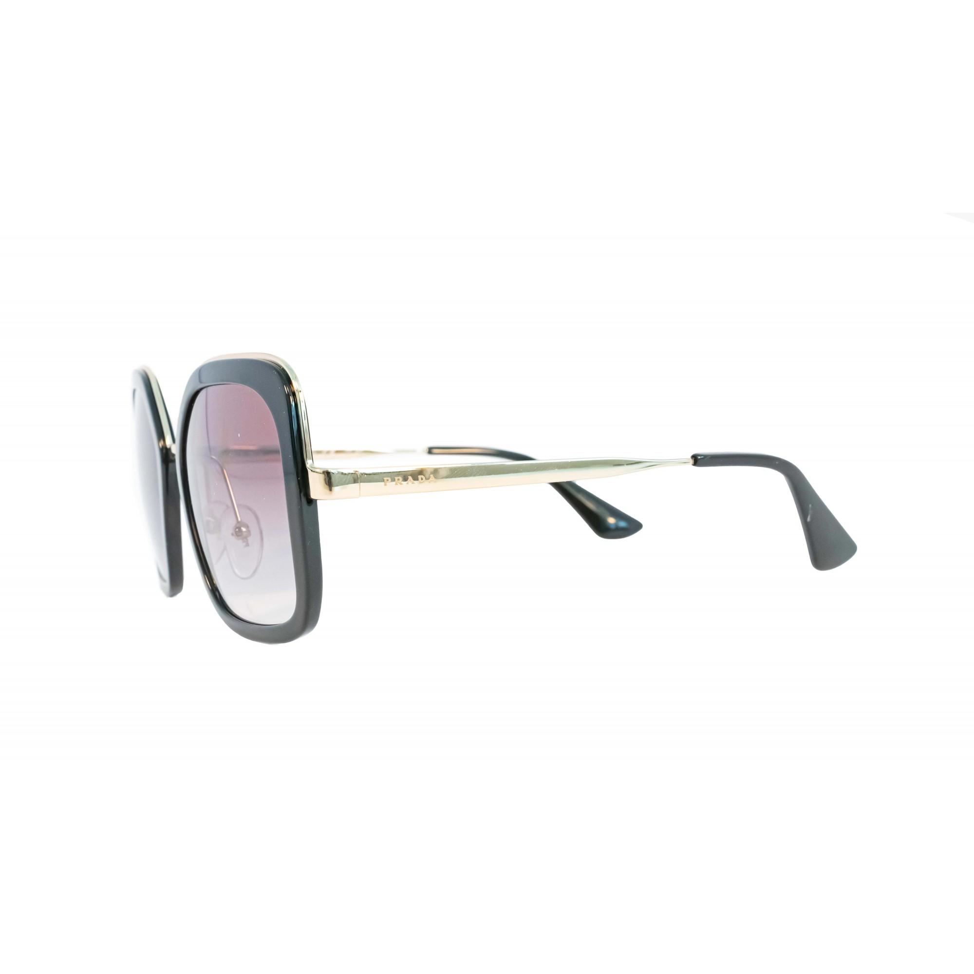 Óculos Prada Quadrado Spr57u 1ab0a7 54 Preto