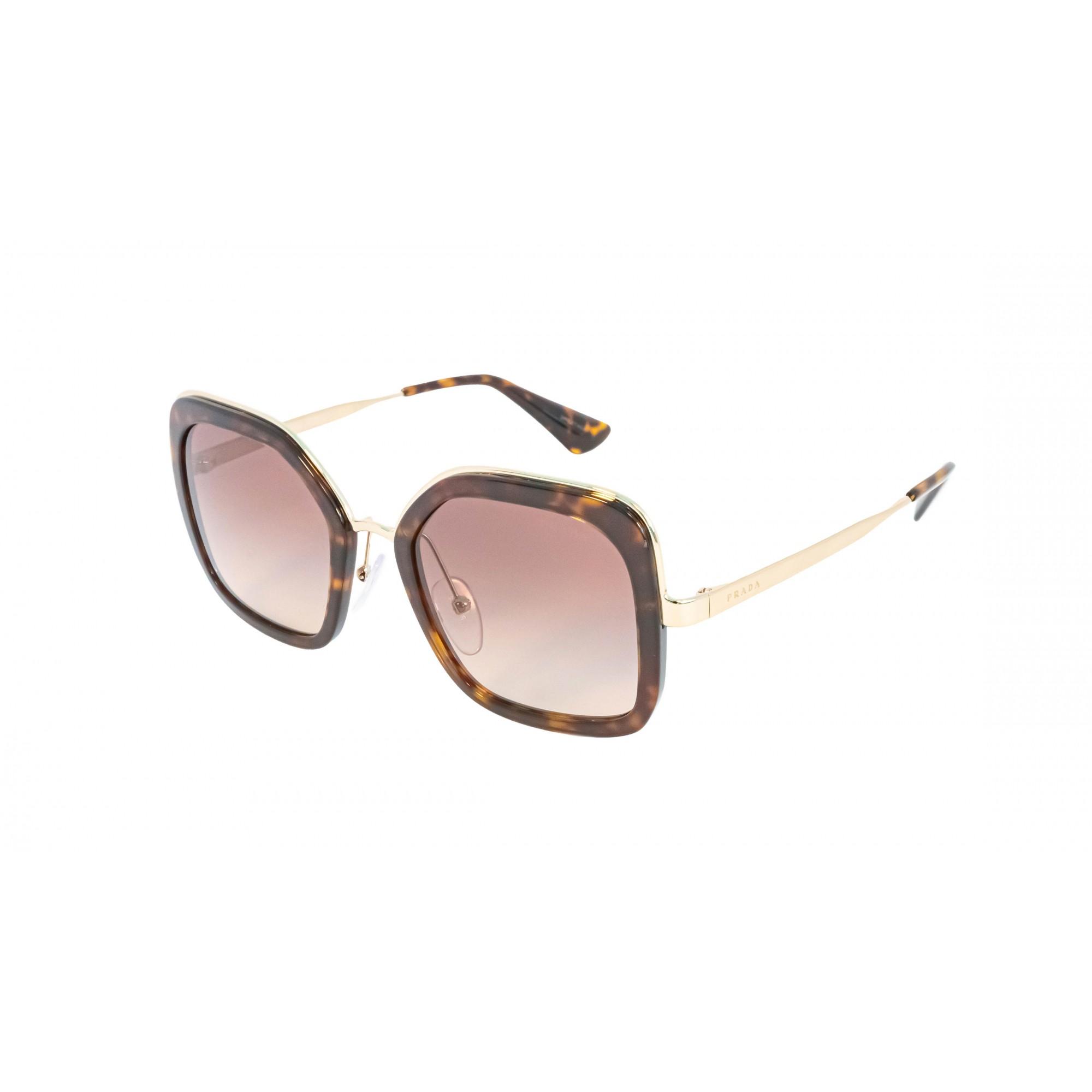 Óculos Prada Quadrado Spr57u 2au3d0 54 Tartaruga