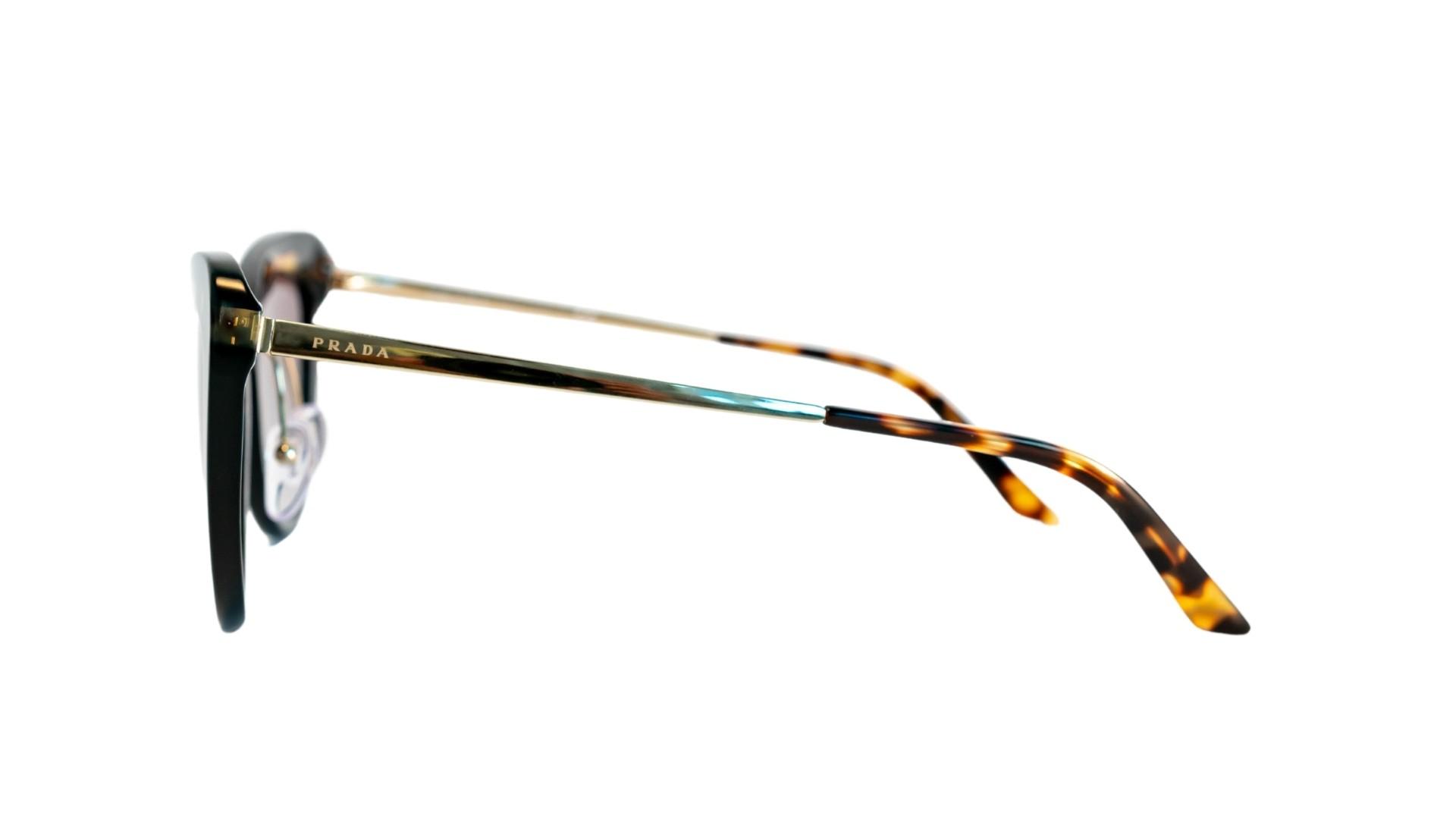 Óculos Prada SPR25X 3890A7 55 Tartaruga/Dourado