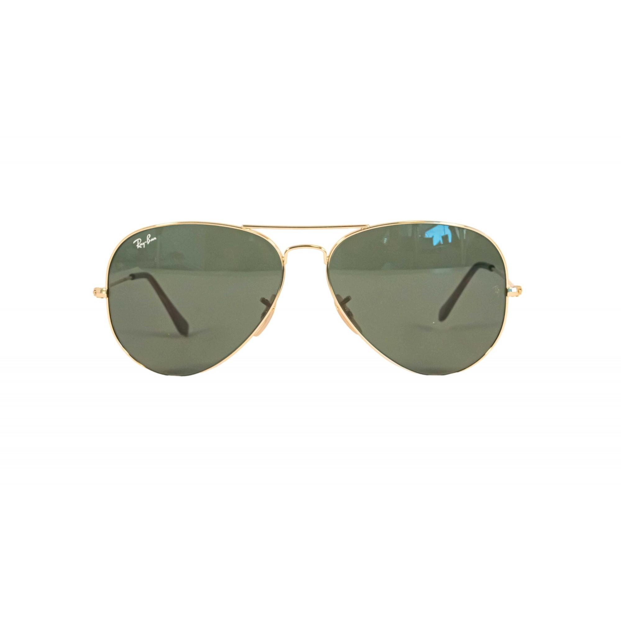 Óculos Ray Ban Aviador 3025l 181 62 Dourado