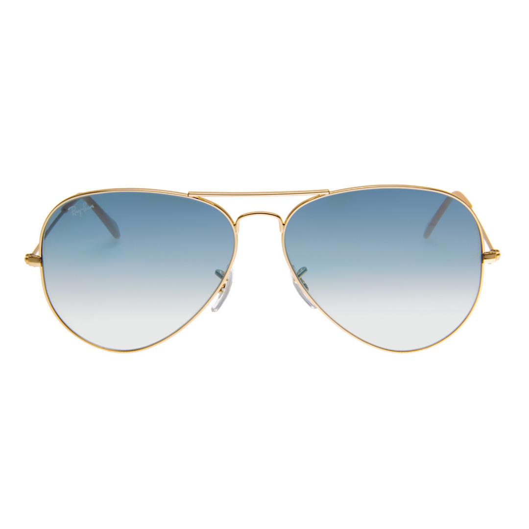 Óculos Ray Ban Aviador RB3025L 0013F 58 Dourado