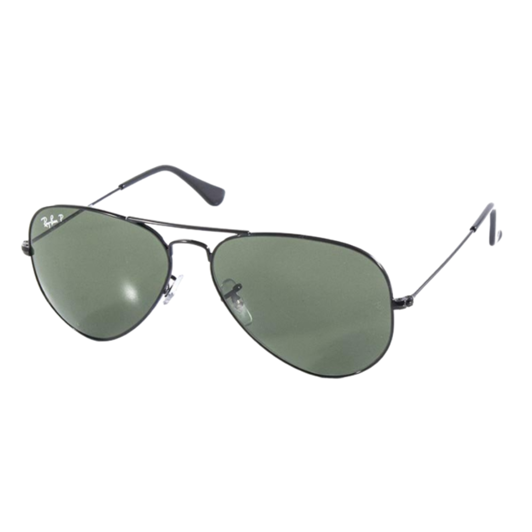Óculos Ray Ban Aviador RB3025L 00258 58 Preto