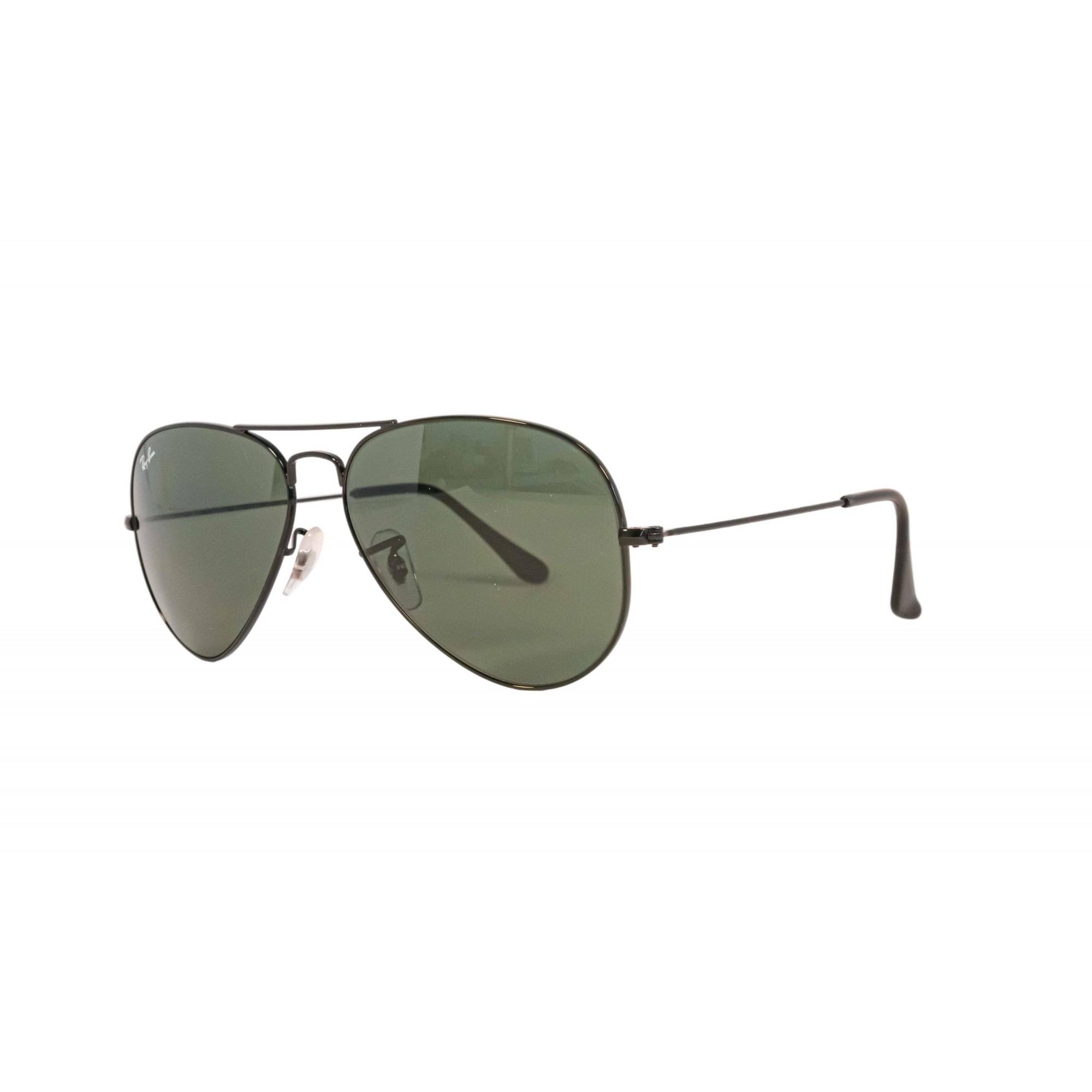 Óculos Ray Ban Aviador Rb3025l L2823 58 Preto