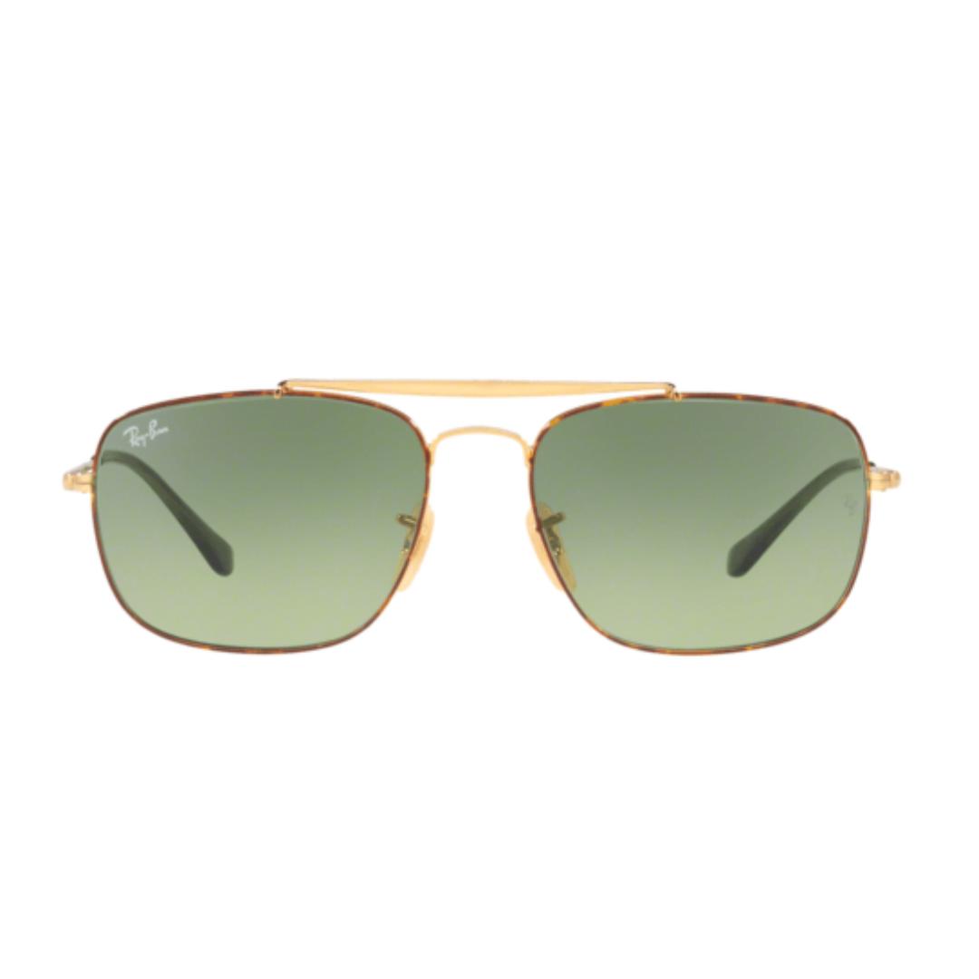 Óculos Ray Ban Clássico RB3560 91034M 58 Dourado