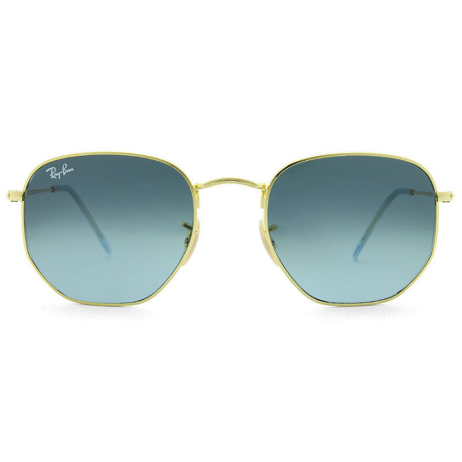 Óculos Ray Ban Hexagonal RB34548NL 91233M 54 Dourado