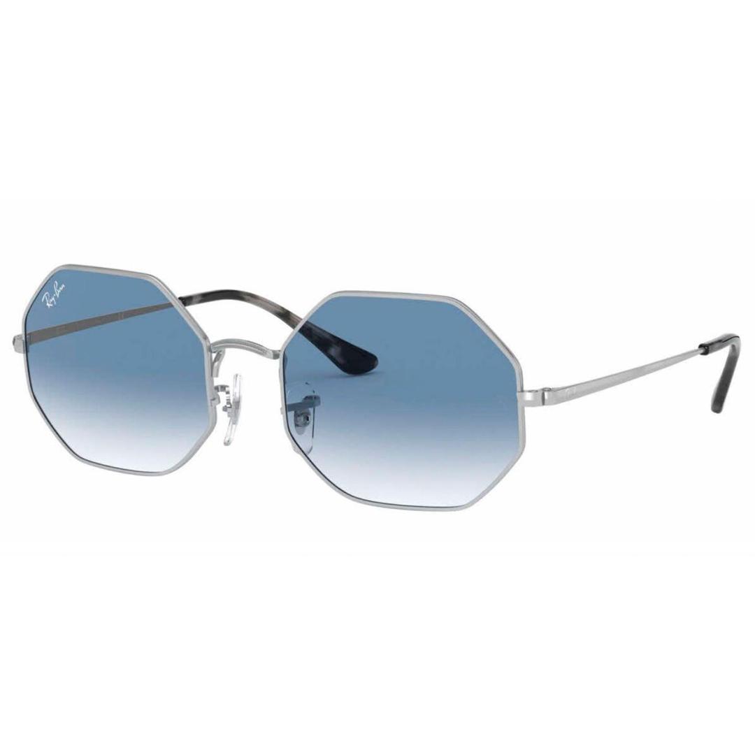 Óculos Ray Ban Octagonal RB1972 91493F 54 Prateado