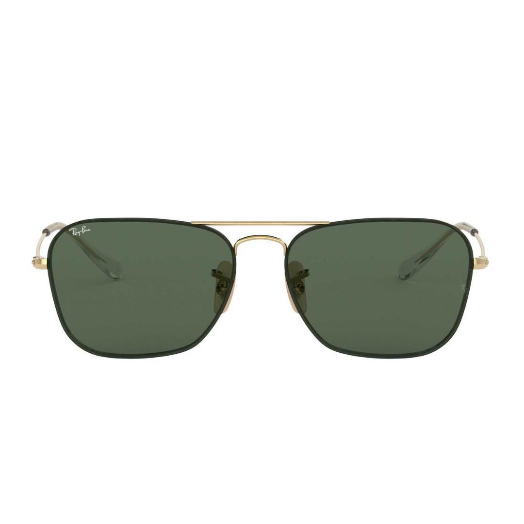 Óculos Ray Ban Quadrado RB3603 00171 56 Dourado