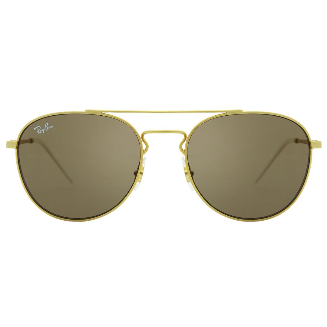 Óculos Ray Ban Redondo RB3589 901373 55 Dourado