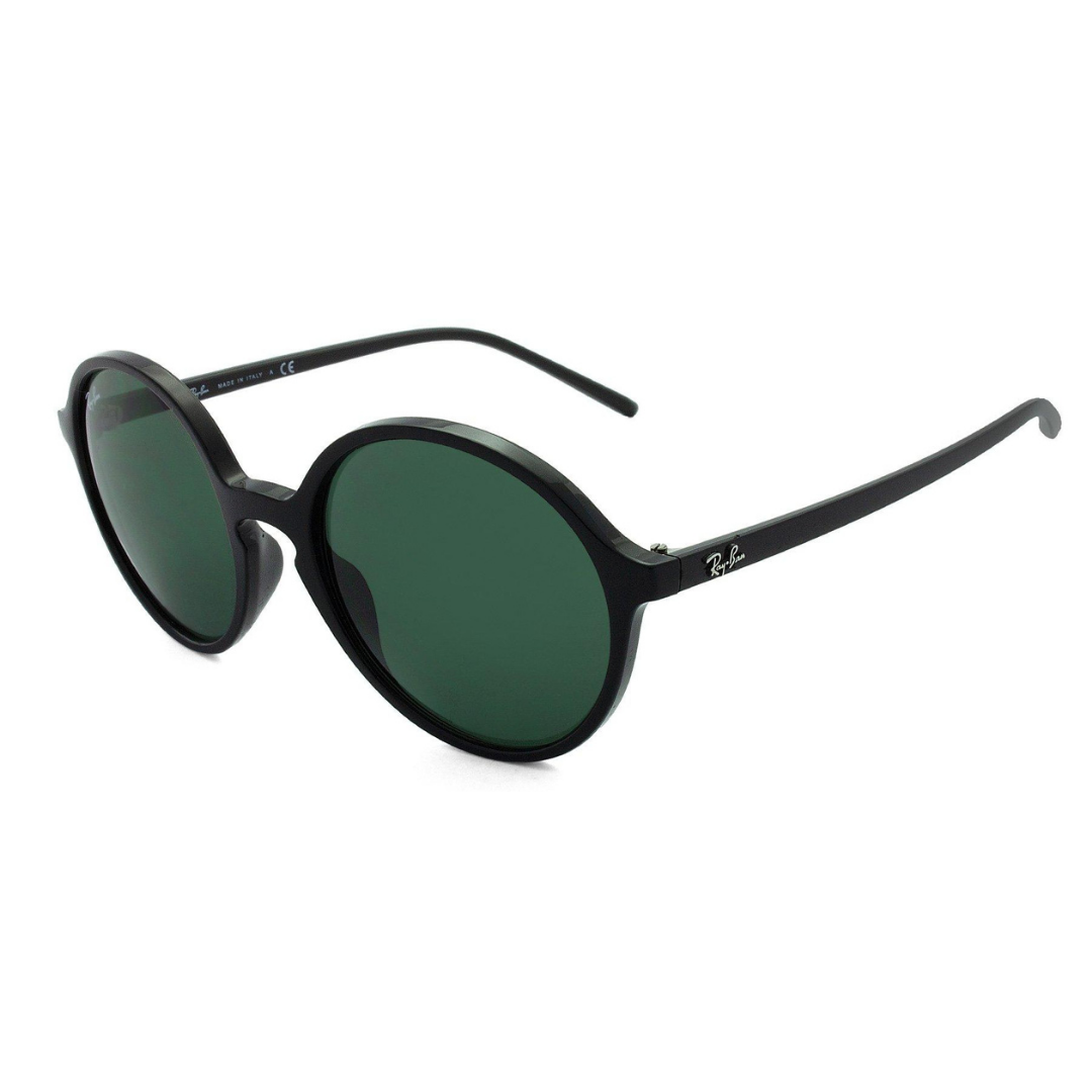 Óculos Ray Ban Redondo RB4304 60171 53 Preto