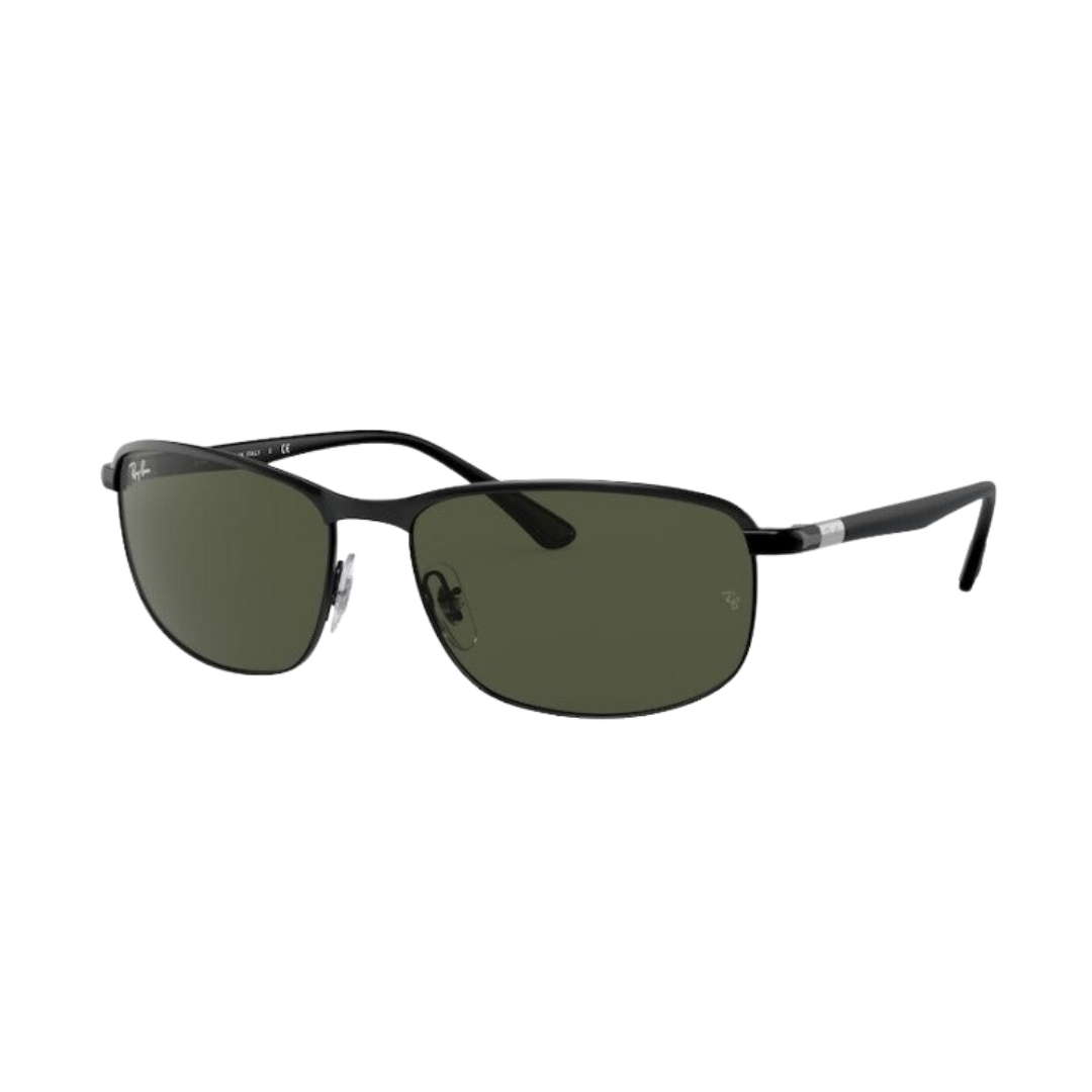 Óculos Ray Ban Retangular RB3671 18631 60 Preto