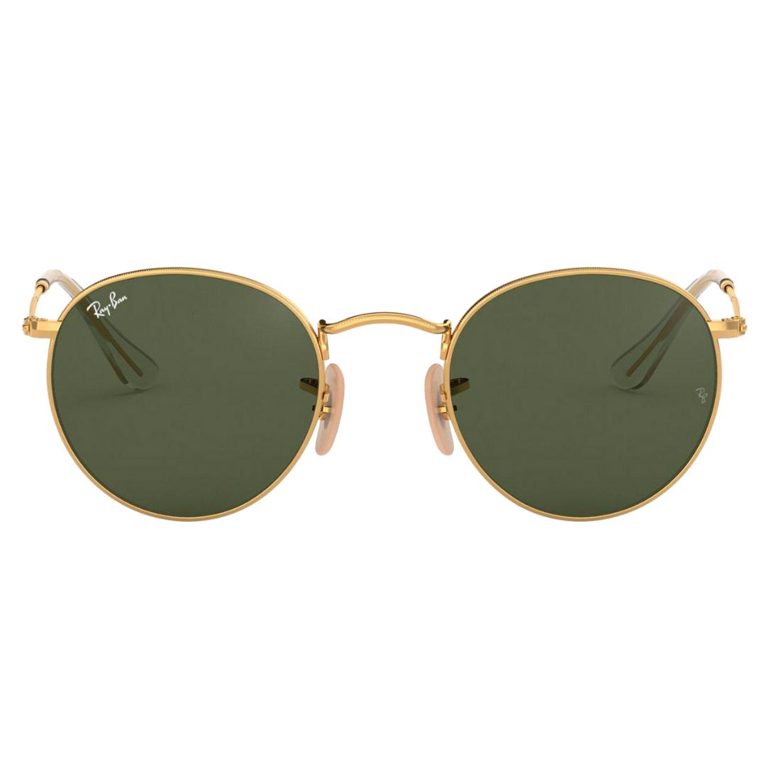 Óculos Ray Ban Round RB3447NL 001 53 Dourado