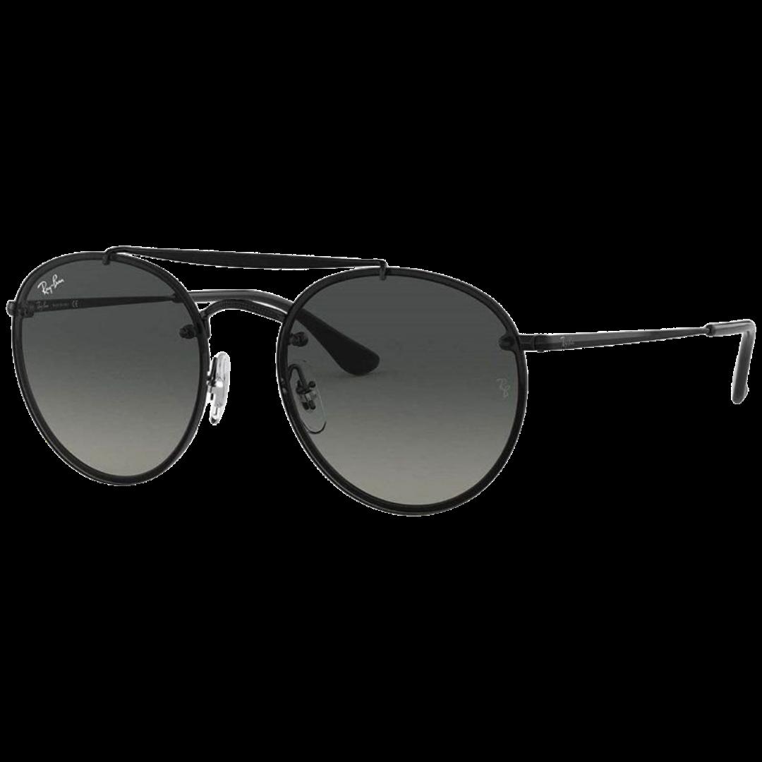 Óculos Ray Ban Round RB3614N 14811 54 Preto