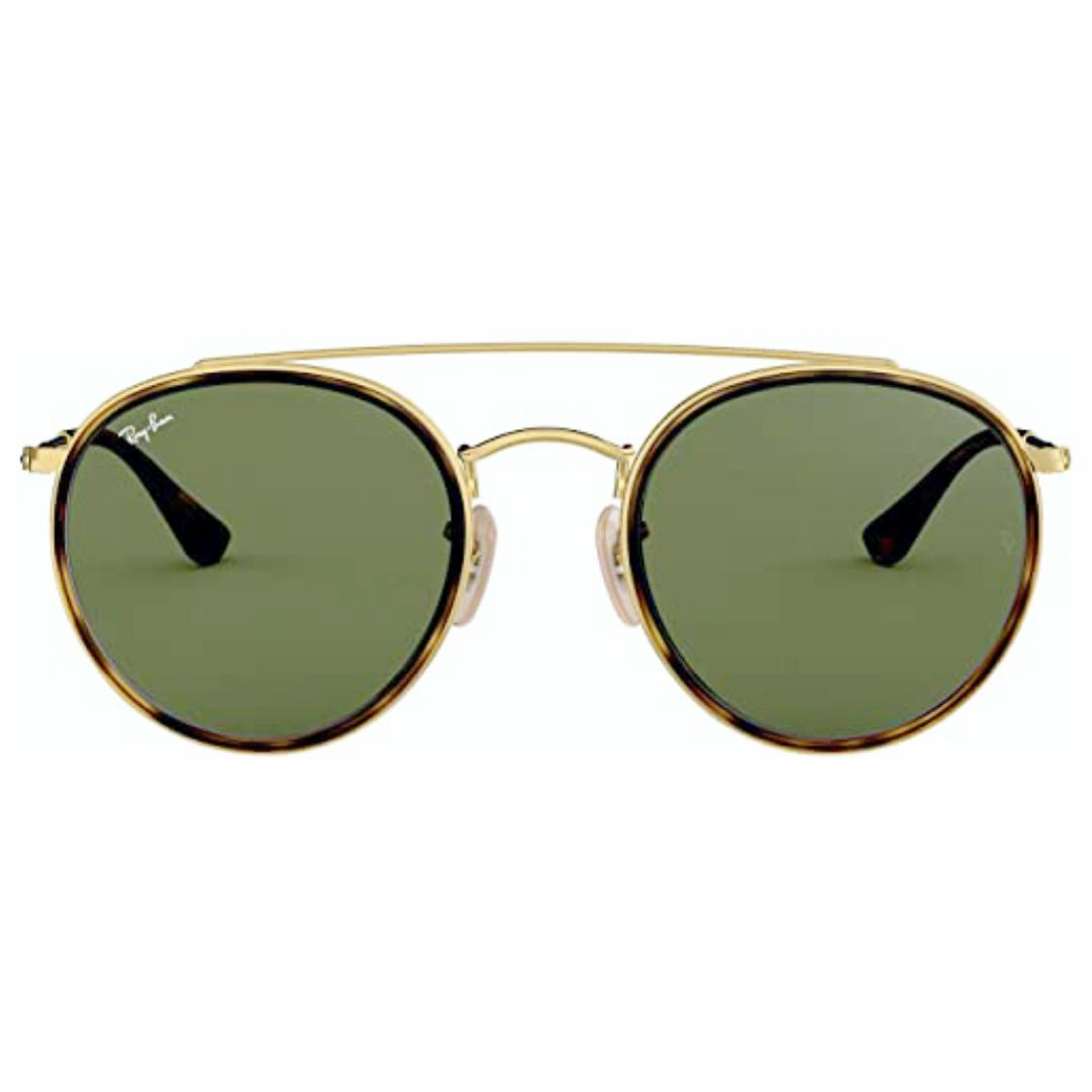 Óculos Ray-Ban Round RB3647N 001 51 Dourado