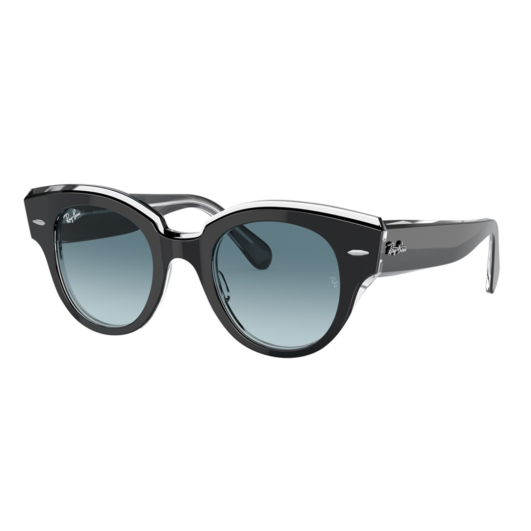 Óculos Ray-Ban Roundabout RB2192 12943M 47 Preto