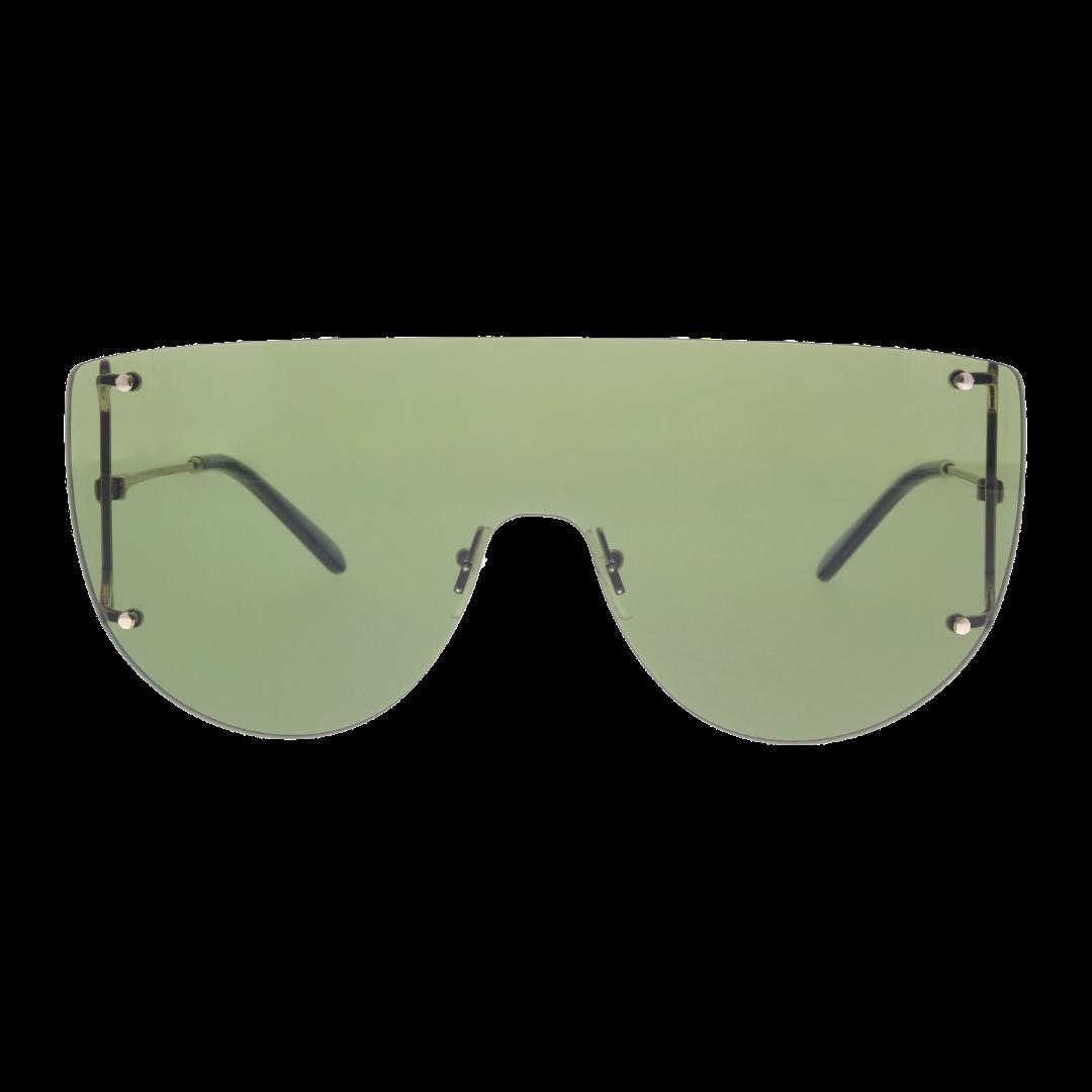 Óculos Salvatore Ferragamo Aviador SF222S 726 65 Dourado/Verde