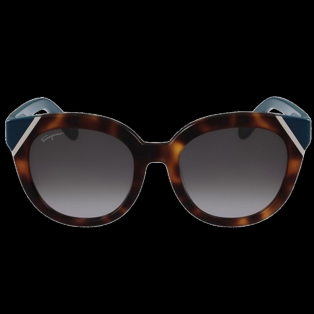 Óculos Salvatore Ferragamo Cat-Eye SF836S 253 54 Marrom
