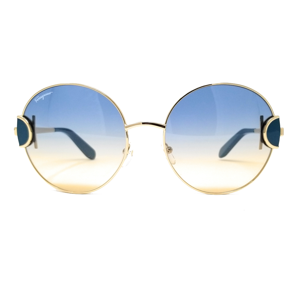 Óculos Salvatore Ferragamo Redondo SF156S 712 59 Dourado