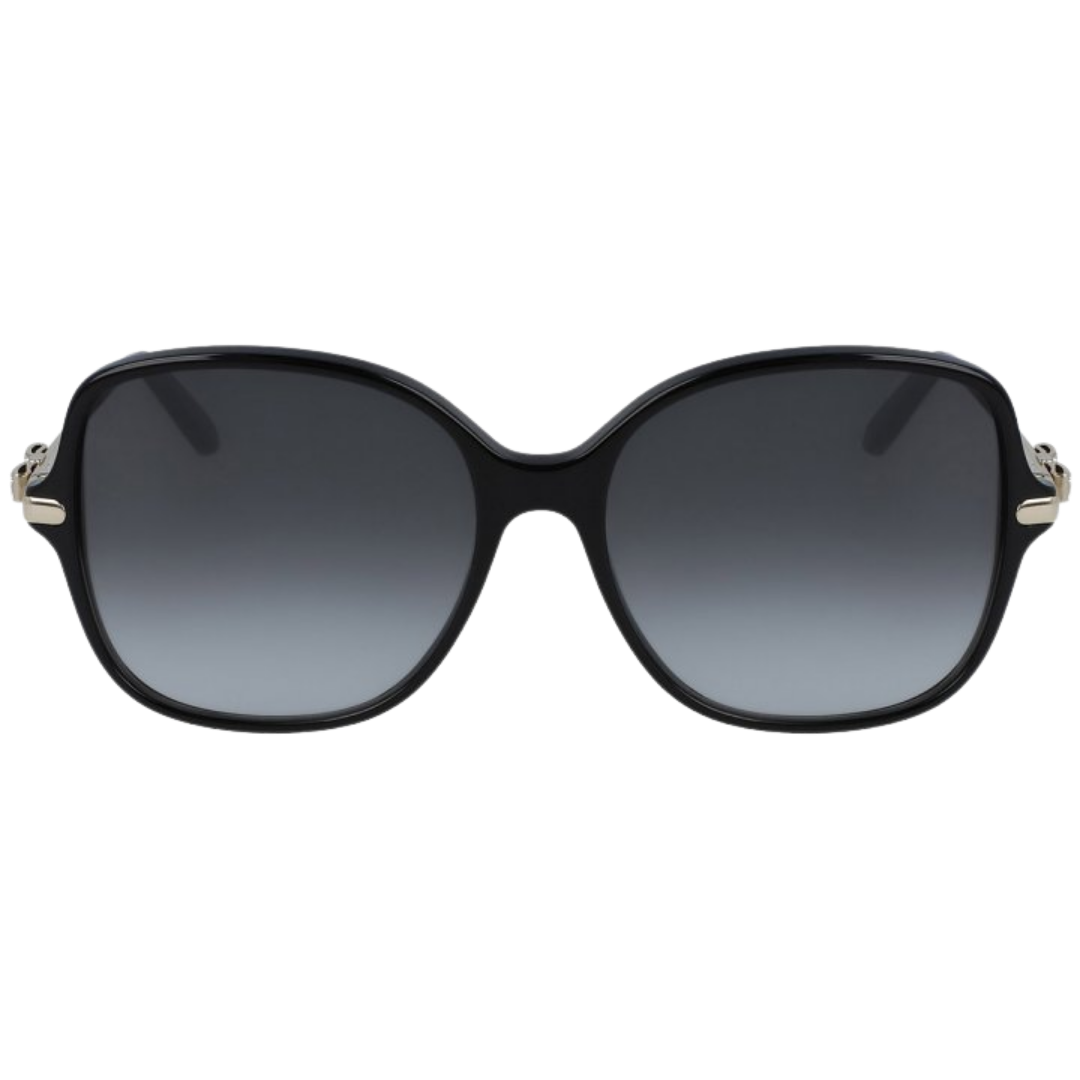 Óculos Salvatore Ferragamo Retangular  SF990SR 001 57 Preto