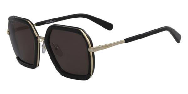 Óculos Salvatore Ferragamo SF901S 001 57 Preto/Dourado
