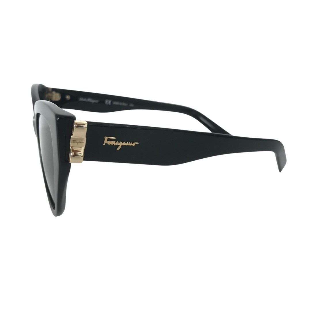 Óculos Salvatore Ferragamo Sunglasses Cat Eye SF969S 001 54 Preto