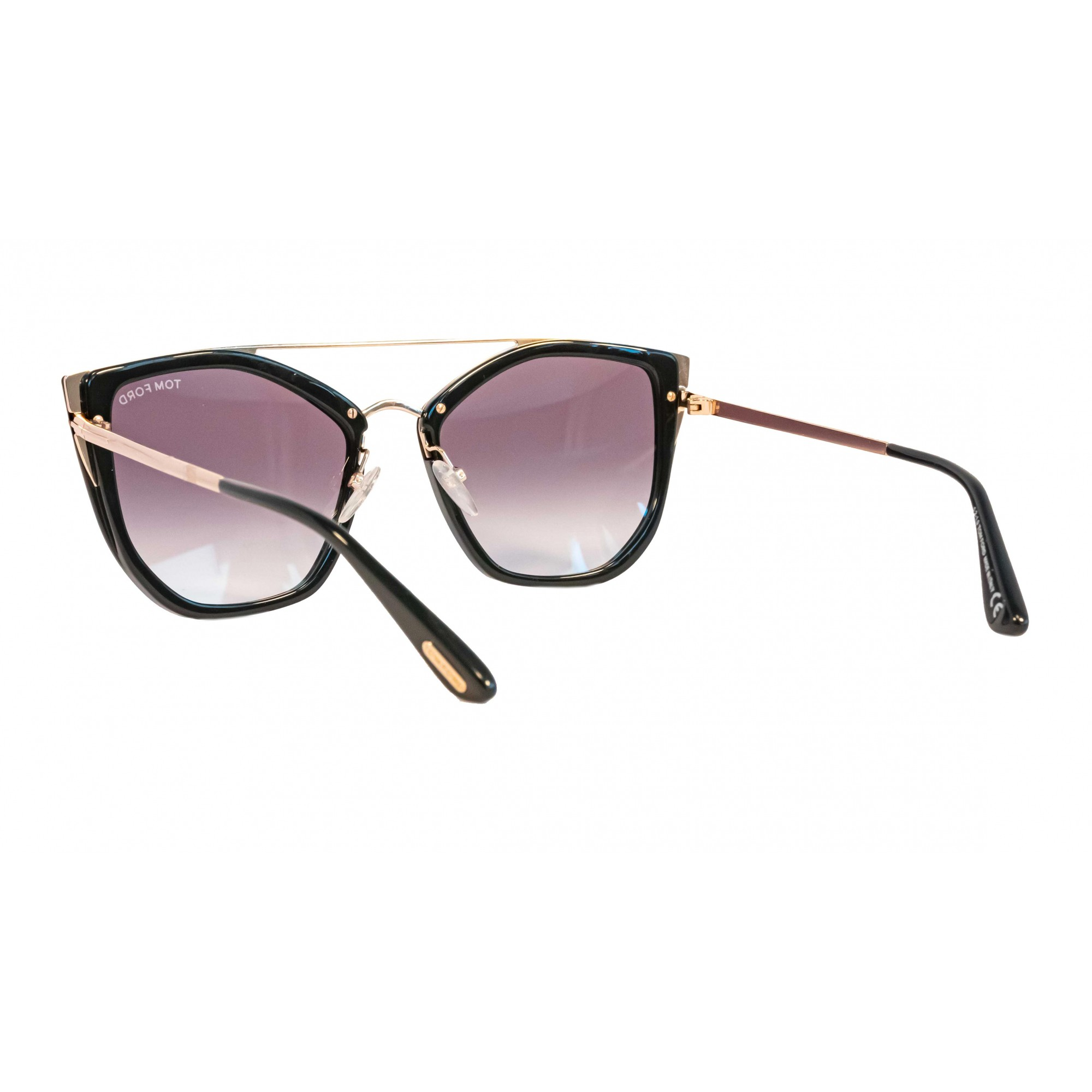 Óculos Tom Ford Dahlia Tf0648 01b 55 Preto