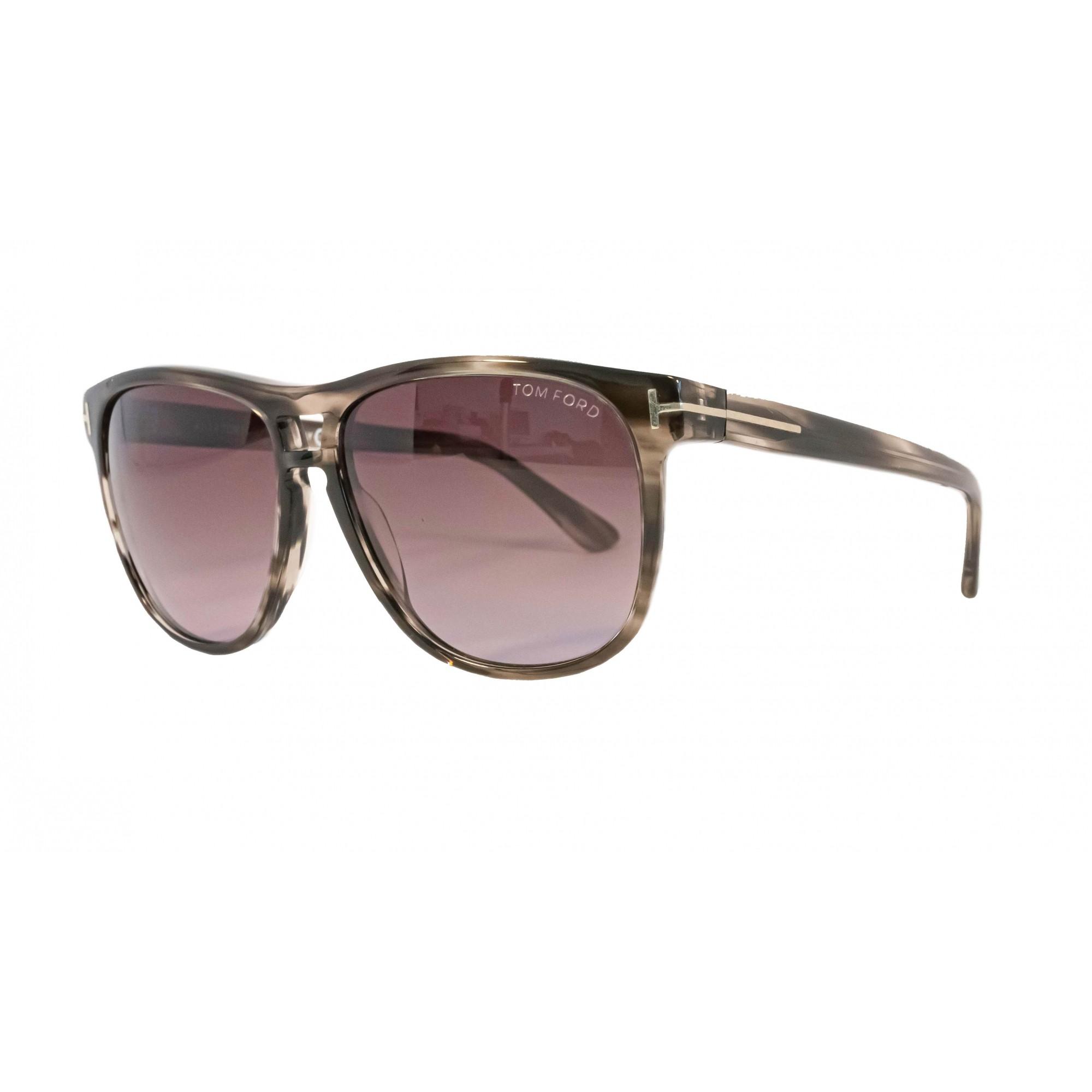 Óculos Tom Ford Lennon Tf0288 50f 57 Cinza